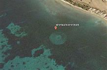 На картах Google рассмотрели загадочные круги у берегов Греции