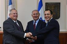 Нетаниягу встретился с главами МИД Греции и Кипра