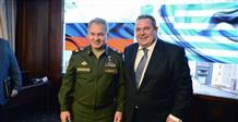 Шойгу и министр обороны Греции обсудили военно-техническое сотрудничество
