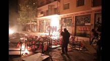 Греческая полиция впервые применила водометы против участников беспорядков (фото)