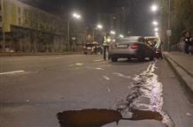 В центре Киева в ДТП попал дипломат из Греции (видео)