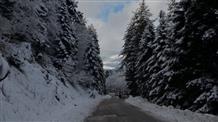 В Греции выпал первый снег (фото, видео)