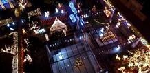 В Греции нашли самый «рождественский» дом: 177 000 огней (видео)