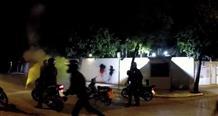 Резиденцию посла США в Афинах забросали пакетами с краской, сообщили СМИ (видео)