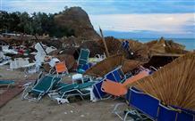 На Халкидики из-за погоды объявили чрезвычайное положение