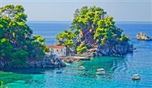Летняя осень в Греции: море и горы (видео)