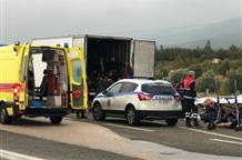 В Греции пытались перевезти нелегалов в фуре-холодильнике