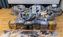 Полиция Греции конфисковала 1,2 тонны кокаина у банды наркоторговцев