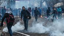 Греция пытается отразить натиск нелегальных мигрантов из Турции (видео)
