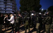 В Салониках прошла акция протеста против карантина (фото, видео)
