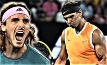 Циципас героически обыграл Рафаэля Надаля и прошел в полуфинал Australian Open
