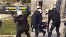 Избиение полицейскими мирных граждан может вызвать политический кризис в Греции (видео)