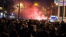 Митинг против полицейского насилия разогнали водой и слезоточивым газом (видео)