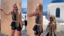 «Голубая крыша. Простите мои эмоции»: Ольга Бузова расплакалась в Греции