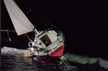 К берегам Элиды прибило парусник без пассажиров