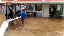 Из-за ливней закроются столичные школы Греции
