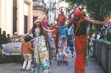 Афины принимают Международный фестиваль уличных театров