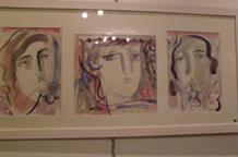 Украинско-греческая Роксана на выставке в Посольстве