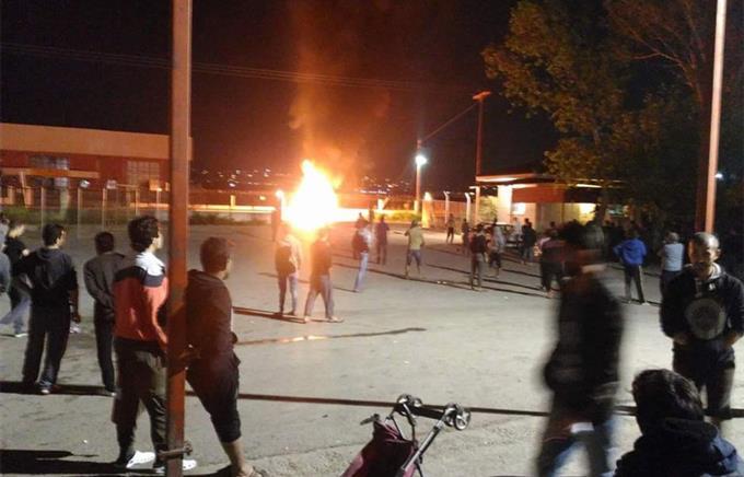 ВГреции мигранты атаковали служащих милиции
