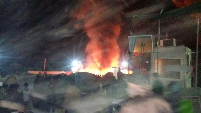 ВГреции пожар влагере мигрантов забрал жизни 3-х человек