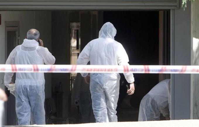 Революционные мстители заложили бомбу уполицейского участка вАфинах