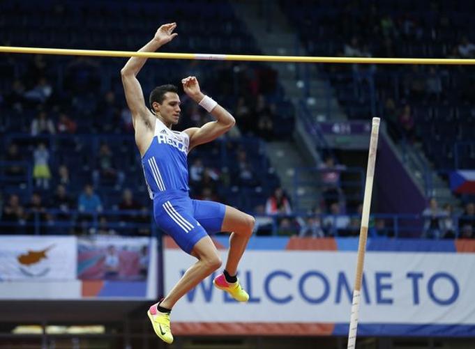Никифоров завоевал бронзу чемпионата Европы впрыжках вдлину