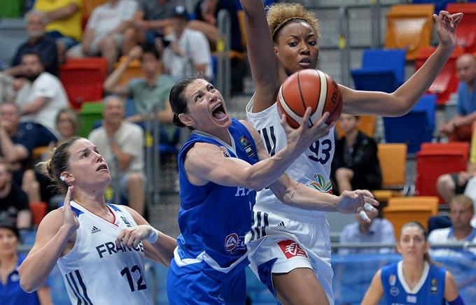 Женская сборная Российской Федерации сыграет сГрецией в1/8 финала Евробаскета